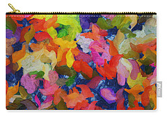 Mr Autumn Meets  Lady Spring - Painting - Wet Paint  Carry-all Pouch