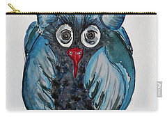 Mr. Blue Owl Carry-all Pouch