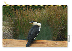 Carry-all Pouch featuring the photograph Mr Frederick Higgins Looks Around by Mark Blauhoefer