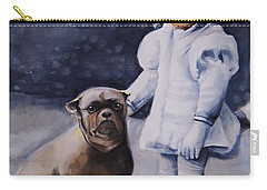 Mr Moonbeams  Carry-all Pouch by Jean Cormier