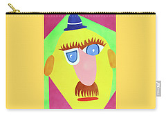 Carry-all Pouch featuring the painting Mr. Strangefellow by Thomas Blood