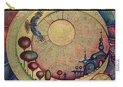 Mr Twardowski On The Moon Carry-all Pouch by Anna Ewa Miarczynska