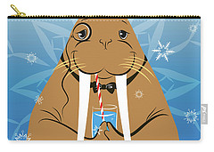 Mr. Walrus Carry-all Pouch