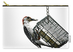 Mr. Woodpecker Carry-all Pouch by Melissa Messick