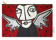 Mr.creepy Carry-all Pouch by Thomas Valentine