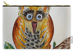 Mr.orange Owl Carry-all Pouch