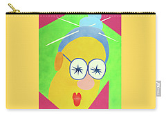 Carry-all Pouch featuring the painting Mrs. Strangefellow by Thomas Blood