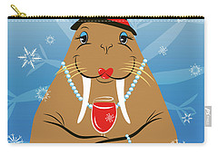 Mrs. Walrus Carry-all Pouch