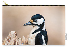 Mrs Woodpecker Carry-all Pouch