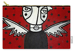 Mrs.creepy Carry-all Pouch by Thomas Valentine