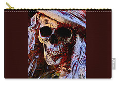 Ms Skull Carry-all Pouch