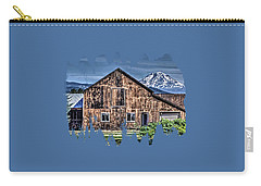 Carry-all Pouch featuring the photograph Mt. Adams by Thom Zehrfeld