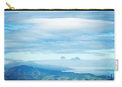 Mt Diablo View With Oak Carry-all Pouch