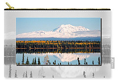 Carry-all Pouch featuring the photograph Mt. Drum - Alaska by Juergen Weiss