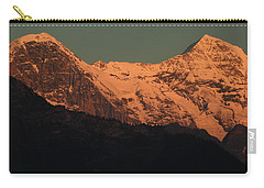 Mt. Eiger And Mt. Moench At Sunset Carry-all Pouch