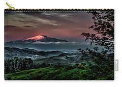 Mt. Etna I Carry-all Pouch by Patrick Boening