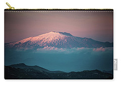 Mt. Etna II Carry-all Pouch by Patrick Boening