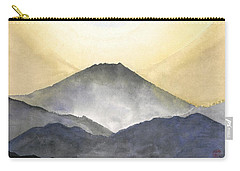 Mt. Fuji At Sunrise Carry-all Pouch