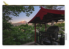Mt Fuji From Ubuyagasaki Shrine Carry-all Pouch
