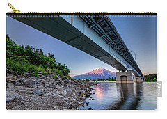Mt Fuji - Under The Bridge Carry-all Pouch