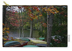 Mt. Gretna Canoes In Fall Carry-all Pouch