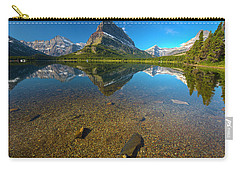 Carry-all Pouch featuring the photograph Mt. Grinnell by Gary Lengyel