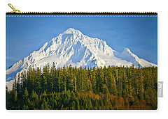 Mt Hood In Winter Carry-all Pouch