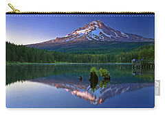 Mt. Hood Reflection At Sunset Carry-all Pouch