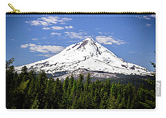 Mt. Hood's East Face Carry-all Pouch