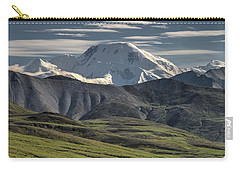 Carry-all Pouch featuring the photograph Mt. Mather by Gary Lengyel