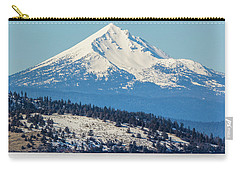 Carry-all Pouch featuring the photograph Mt. Mcloughlin by Marc Crumpler