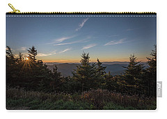Mt Mitchell Sunset North Carolina 2016 Carry-all Pouch by Terry DeLuco