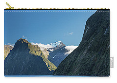 Carry-all Pouch featuring the photograph Mt Pembroke Glacier by Gary Eason