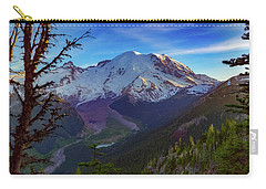 Mt Rainier At Emmons Glacier Carry-all Pouch
