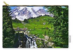 Mt. Rainier From Myrtle Falls Carry-all Pouch