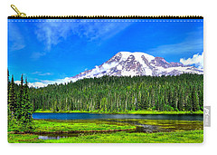 Mt. Rainier From Reflection Lakes Carry-all Pouch