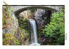 Mt Rainier National Park, Christine Falls Carry-all Pouch