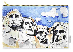 Mt. Rushmore, Usa Carry-all Pouch by Terry Banderas