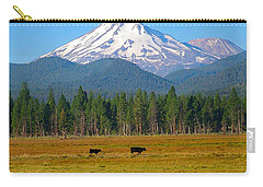 Mt. Shasta Morning Carry-all Pouch