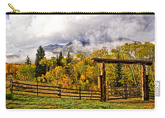 Mt Sopris Under The Clouds Carry-all Pouch