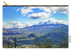 M.t St. Helens And The Toutle River Carry-all Pouch