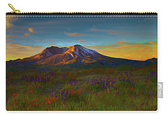 Mt. St. Helens Sunrise Carry-all Pouch
