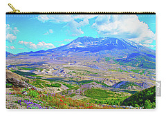 Mt. St. Helens Wildflowers Carry-all Pouch