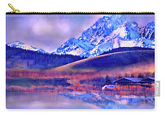Mt. Stuart Carry-all Pouch by Kari Nanstad