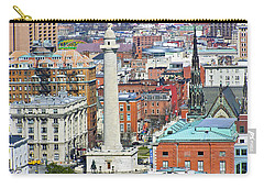 Mt Vernon - Baltimore Carry-all Pouch by Brian Wallace