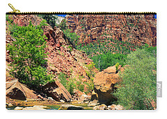 Mt.moroni / Virgin River Carry-all Pouch