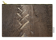 Carry-all Pouch featuring the photograph Mud Escape by Stephen Mitchell