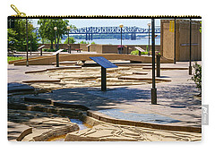 Mud Island Park Carry-all Pouch by Jennifer White