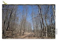 Carry-all Pouch featuring the photograph Mud Season In The Adirondacks by David Patterson