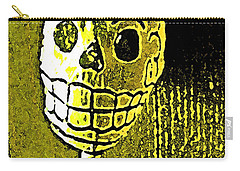 Carry-all Pouch featuring the photograph Muertos 1 by Pamela Cooper